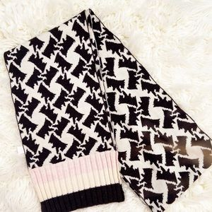 Juicy Couture Scotty Dog Scarf